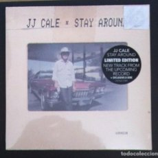 Discos de vinilo: JJ CALE - STAY AROUND / WORRYING OFF YOUR MIND - SINGLE EDICC LIMITADA 2019 - BECAUSE (NUEVO). Lote 287910308