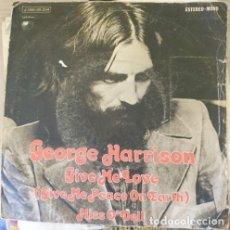 Discos de vinilo: GEORGE HARRISON. GIVE ME LOVE (GIVE ME PEACE ON EARTH) MISS O´DELL. -. Lote 287910893