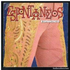 Discos de vinilo: ESPONTANEOS - ESPARTACO - SINGLE 1989 - SOLO FUNDA, SIN VINILO. Lote 287912223