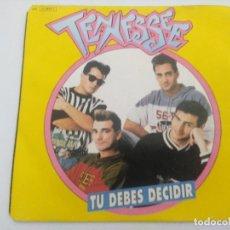 Discos de vinilo: SINGLE/TENNESSEE/TU DEBES DECIDIR.. Lote 287912988