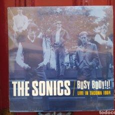 Discos de vinilo: THE SONICS–BUSY BODY!!! (LIVE IN TACOMA 1964) LP VINILO PRECINTADO.. Lote 287913063