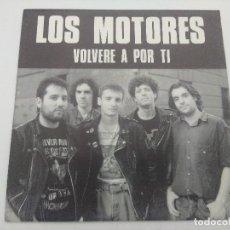 Discos de vinilo: SINGLE/LOS MOTORES/VOLVERE A POR TI.. Lote 287913443