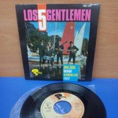 Discos de vinilo: SINGLE DISCO VINILO LOS 5 GENTLEMEN DINOS DYLAN +3. Lote 287914393