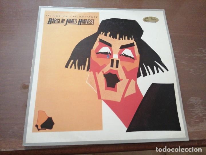 DISCO DE MÚSICA LP VINILO MAXI SINGLE VITIMS OF CIRCUMSTANCE BARCLAY JAMES HARVEST (Música - Discos - LP Vinilo - Cantautores Internacionales)