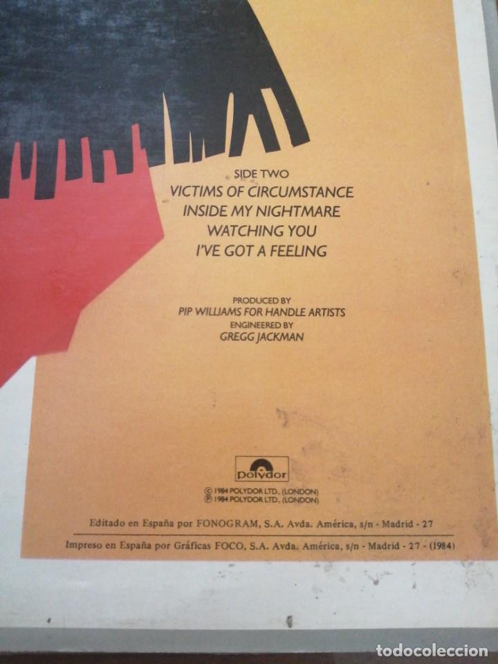 Discos de vinilo: Disco de música LP vinilo maxi single VITIMS OF CIRCUMSTANCE BARCLAY JAMES HARVEST - Foto 4 - 287914463