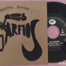 """Discos de vinilo: 7"""" LOS GARFIOS ¿POR QUÉ TE VAS? BALADAS BL-00L - SPAIN PRESS - 1SIDED (EX+/EX+). Lote 287916443"""