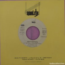 """Discos de vinilo: 7"""" BEAT BUSTERS - LET ME TELL YOU SOMETHING - QUALITY MADRID QR-015-S - SPAIN 1SIDED PROMO (EX+/EX+). Lote 287917693"""