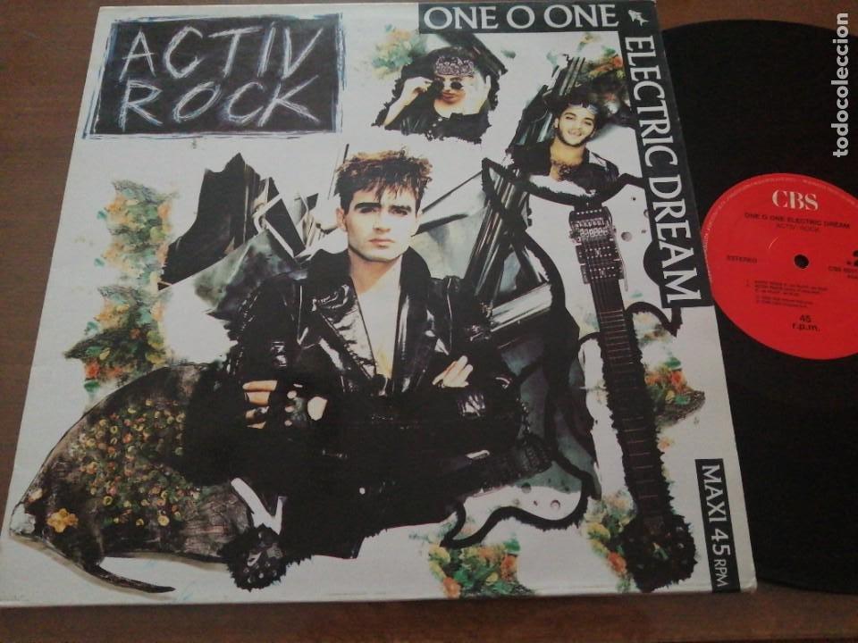 DISCO DE MÚSICA LP VINILO MAXI SINGLE ONE O ONE ELECTRIC DREAM ACTIV ROCK POWER PURPLE MIX (Música - Discos - LP Vinilo - Cantautores Internacionales)