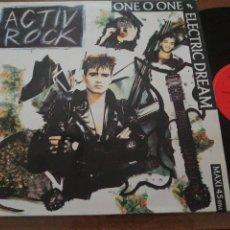 Discos de vinilo: DISCO DE MÚSICA LP VINILO MAXI SINGLE ONE O ONE ELECTRIC DREAM ACTIV ROCK POWER PURPLE MIX. Lote 287918968