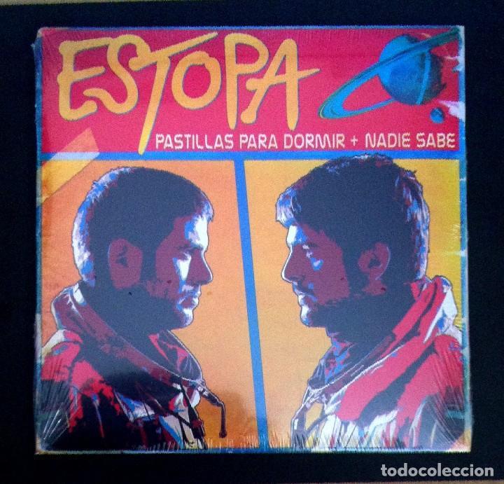 ESTOPA - PASTILLAS PARA DORMIR / NADIE SABE - SINGLE 2015 - SONY (NUEVO / PRECINTADO) (Música - Discos - Singles Vinilo - Grupos Españoles de los 90 a la actualidad)