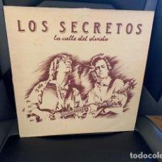 Discos de vinilo: LOS SECRETOS – LA CALLE DEL OLVIDO. DISCO VINILO. ESTADO VG+/VG. 1989. Lote 287920178