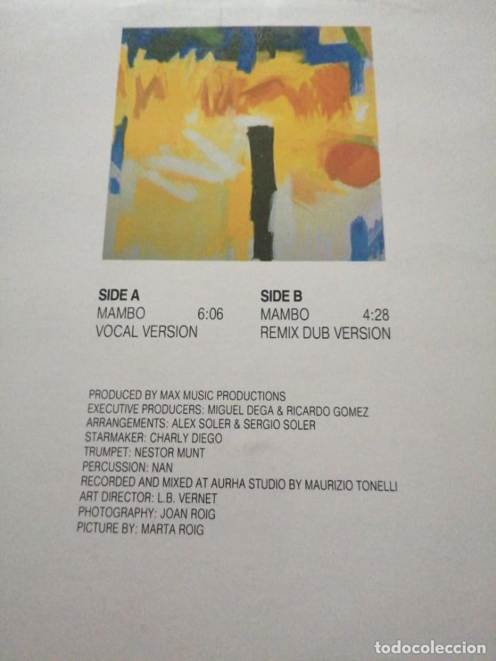 Discos de vinilo: Disco de música LP vinilo maxi single STEVE CLARK MAMBO - Foto 2 - 287920738
