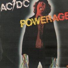 Discos de vinilo: AC / DC - POWER AGE / LP HISPAVOX DE 1978. EDICION ESPAÑOLA / BUEN ESTADO RF-10293. Lote 287921033