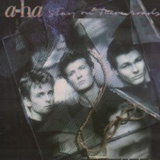 Dischi in vinile: A - HA -- STAY ON THESE ROADS / LP WB DE 1988 / BUEN ESTADO RF-10295. Lote 287921473