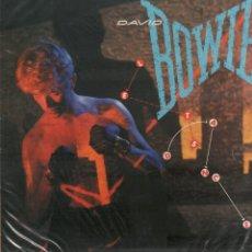 Discos de vinilo: DAVID BOWIE - LETS DANCE / LP EMI AMERICA DE 1983 / BUEN ESTADO RF-10296. Lote 287921648