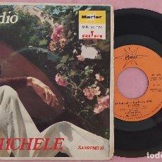 """Discos de vinilo: 7"""" MICHELE - L'ADDIO - MARFER MR. 20-120 - SPAIN PRESS - SANREMO'70 (VG++/VG++). Lote 287921758"""