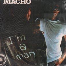 Discos de vinilo: MACHO - I'M A MAN / LP EMI DE 1975 / MUY BUEN ESTADO RF-10297. Lote 287921923