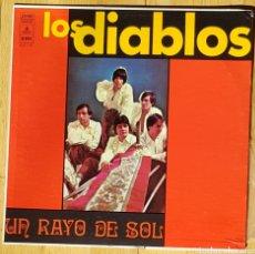 Discos de vinilo: LOS DIABLOS UN RAYO DE SOL LP.. Lote 287921953