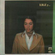 Discos de vinilo: LOLE... Y MANUEL - NUEVO DIA, TANGOS CANASTEROS.../ LP MOVIE PLAY 1975 / BUEN ESTADO RF-10298. Lote 287922163