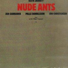 Discos de vinilo: KEITH JARRET - NUDE ANTS - LIVE AT THE VILLAGE VANGUARD / 2 LP ECM RECORDS 1980 RF-10303. Lote 287923223