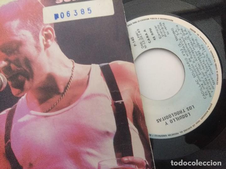Discos de vinilo: SINGLE/LOQUILLO Y LOS TROGLODITAS/CADILLAC SOLITARIO/PROMOCIONAL. - Foto 2 - 287923708