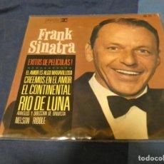 Discos de vinilo: CAJSING19 DISCO 7 PULGADAS EP FRANK SINATRA EXITOS DE PELICULAS 1964 MUY BONITO. Lote 287925093