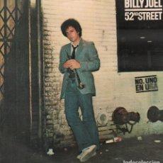 Discos de vinilo: BILLY JOEL - 52 ND STREET / LP CBS DE 1979 / MUY BUEN ESTADO RF-10310. Lote 287927708