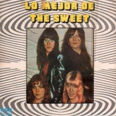 Discos de vinilo: THE SWEET - LO MEJOR DE THE SWEET / LP RCA 1973 / CARATULA ROZADA. VINILO BUEN ESTADO RF-10312. Lote 287928083