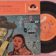 "Discos de vinilo: 7"" CATERINA VALENTE ¡OLE CATERINA! - POLYDOR 20 559 EPH - SPAIN - EP (VG+/VG++). Lote 287929148"