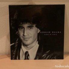Discos de vinilo: SERGIO DALMA – ADIVINA. DISCO VINILO ESTADO VG+/VG+.1992. Lote 287930283
