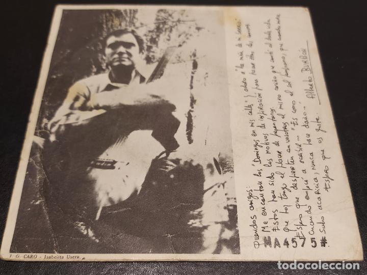 Discos de vinilo: ALBERTO BURBÓN / LA NIÑA DE MI BARRIO / UN DOMINGO EN MIS CALLES / SINGLE-CEM-1968 / MBC. ***/*** - Foto 2 - 287931673