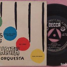 """Discos de vinilo: 7"""" TED HEATH - TOPSY +3 - DECCA EDGE 71003 - SPAIN PRESS - EP (VG+/VG++). Lote 287932703"""