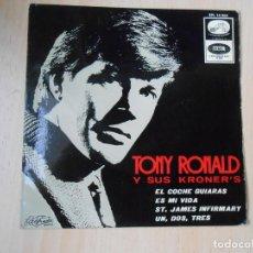 Discos de vinilo: TONY RONALD Y SUS KRONER´S, EP, EL COCHE GUIARÁS + 3, AÑO 1966. Lote 287933768