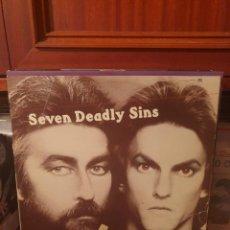Discos de vinilo: LAURIN RINDER & W MICHAEL LEWIS / SEVEN DEADLY SINGS / EDICIÓN ESPAÑOLA / HISPAVOX 1977. Lote 287934798