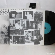 Discos de vinilo: ALCOHOLICOS CRONICOS--POTENCIAL X HARD-CORE--PHC-006--MADRID--. Lote 287937373
