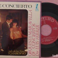 """Discos de vinilo: 7"""" MARAVELLA / LUIS FERRER - EL CISNE + 2 - ZAFIRO CZ-E 9 - SPAIN PRESS (VG+/VG+). Lote 287938878"""
