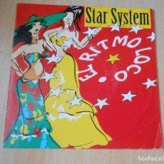 Discos de vinilo: STAR SYSTEM, SG, EL RITMO LOCO (RADIO EDIT) + 1, AÑO 1992 PROMO. Lote 287938883