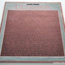 "Discos de vinilo: VINILO MAXI-SINGLE ULTRAVOX. PEEL SESSIONS. ""SPECIAL METALLIC FINISH. LIMITED EDITION SLEEVE"". 1977.. Lote 287939678"