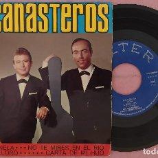 """Discos de vinilo: 7"""" LOS CANASTEROS - EL POLICHINELA +3 - BELTER 51.034 - SPAIN - EP (VG++/VG++). Lote 287939773"""