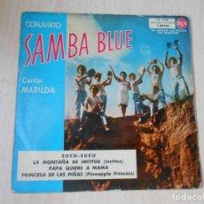 Discos de vinilo: SAMBA BLUE, CONJUNTO - CANTA: MARILDA -, EP, SUCU SUCU + 3, AÑO 1961. Lote 287939813