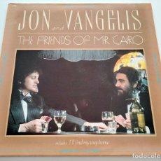 Discos de vinilo: VINILO LP DE JON AND VANGELIS. THE FRIENDS OF MR. CAIRO. 1981.. Lote 287940288