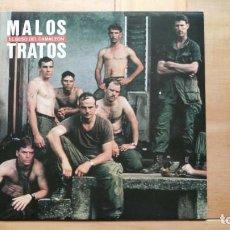 Discos de vinilo: MALOS TRATOS – EL BESO DEL CAMALEÓN. Lote 287940388