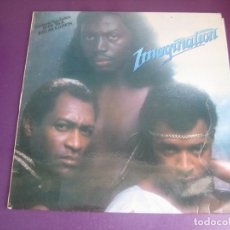Discos de vinilo: IMAGINATION - LP MOVIEPLAY RED BUS 1982 - ELECTRONICA FUNK DISCO 80'S - RECOPILACION 1ª EPOCA. Lote 287940933