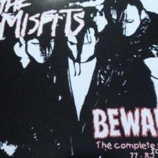 Discos de vinilo: THE MISFITS BEWARE THE COMPLETE SINGLES 77- 82 LP. Lote 287941223