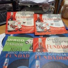 Discos de vinilo: LOTE DE SINGLES FUNDADOR 23 UNIDADES. Lote 287941378