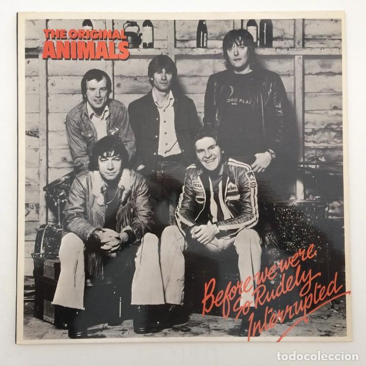 THE ORIGINAL ANIMALS* – BEFORE WE WERE SO RUDELY INTERRUPTED, UK 1977 BARN RECORDS (Música - Discos - LP Vinilo - Pop - Rock - Internacional de los 70)