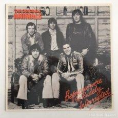 Discos de vinilo: THE ORIGINAL ANIMALS* – BEFORE WE WERE SO RUDELY INTERRUPTED, UK 1977 BARN RECORDS. Lote 287941688