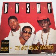 Discos de vinilo: VINILO LP DE B.V.S.M.P. THE BEST BELONG TOGETHER. 1988.. Lote 287944008