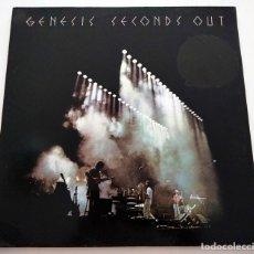 Discos de vinilo: VINILO DOBLE LP DE GENESIS. SECONDS OUT. 1977.. Lote 287946908