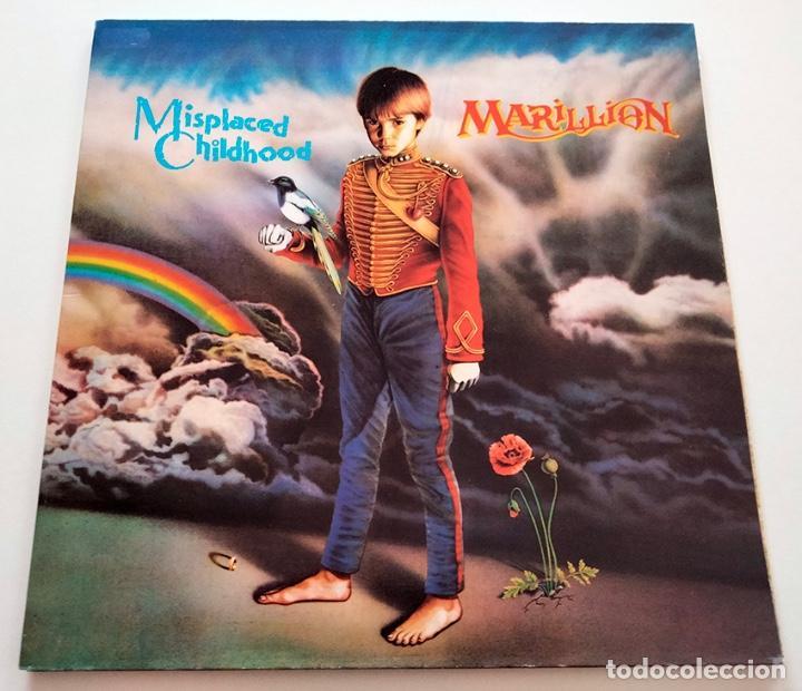 VINILO LP DE MARILLION. MISPLACED CHILDHOOD. 1985. (Música - Discos - LP Vinilo - Pop - Rock - New Wave Internacional de los 80)